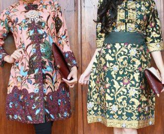 35+ Model Baju Batik Pesta Modern