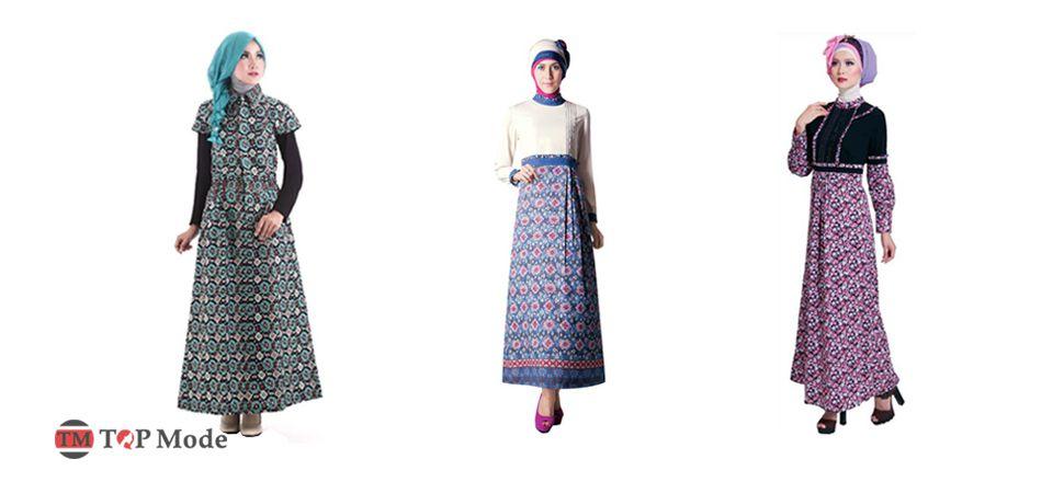 Model Baju Muslim Batik Modern