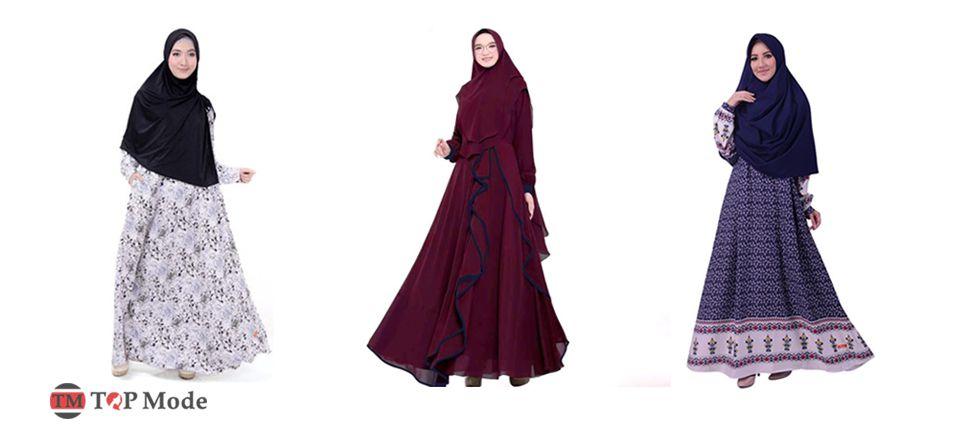 Model Baju Muslim Syar'i Modis