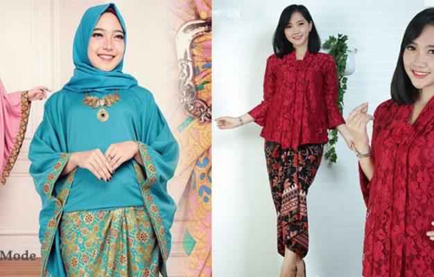 25+ Model Baju Kebaya Batik Terhits
