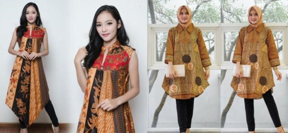 Tips Memilih Baju Tunik Batik Elegan