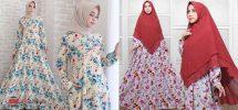 32 Model Baju Gamis Monalisa Trendy