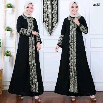 26 Model Gamis Abaya Arab Terbaru Muda Co Id