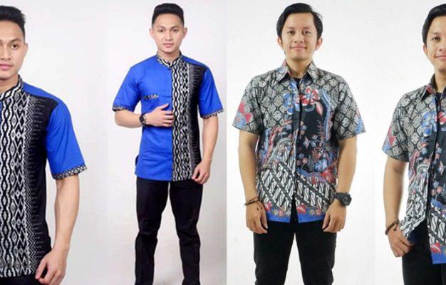 34 Model Baju Kemeja Batik Terbaru