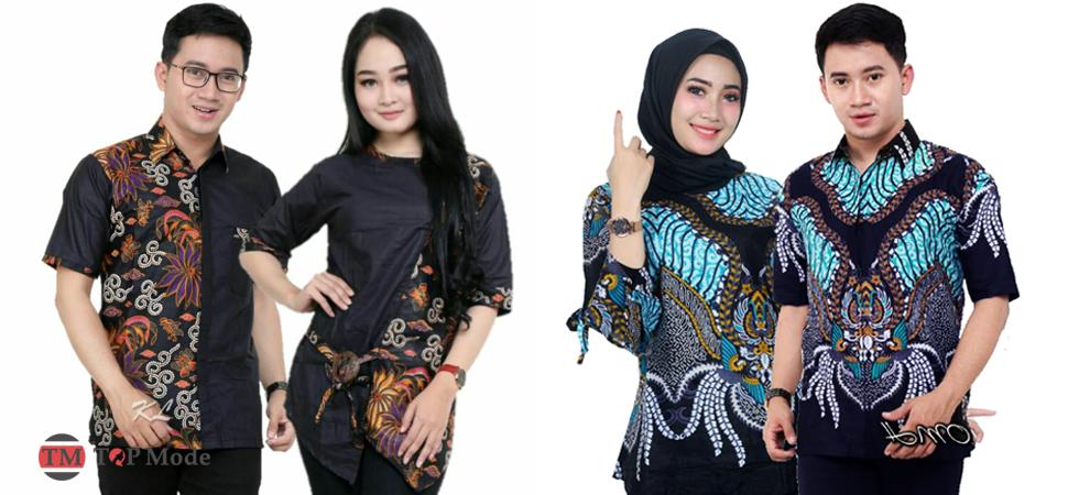 55+ Model Baju Batik Modern Cantik Terbaru